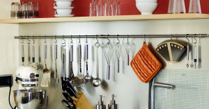 How to organise kitchen